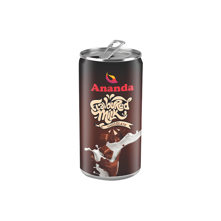Chocolate Flavoured Milk Cans
