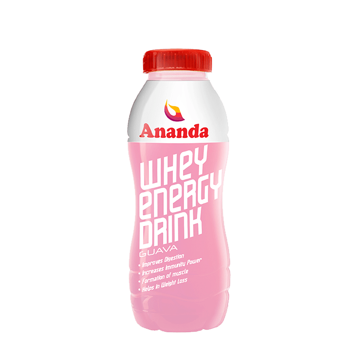 Whey Energy Drink Guava