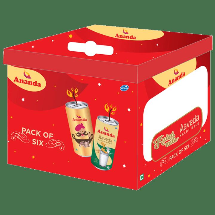 Haldi And Kadai Milk Festive Pack