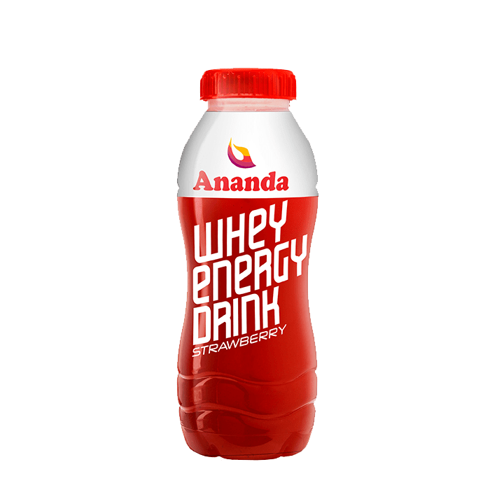 Whey Energy Drink Strawberry