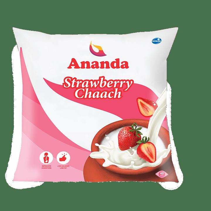 Strawberry Chhach