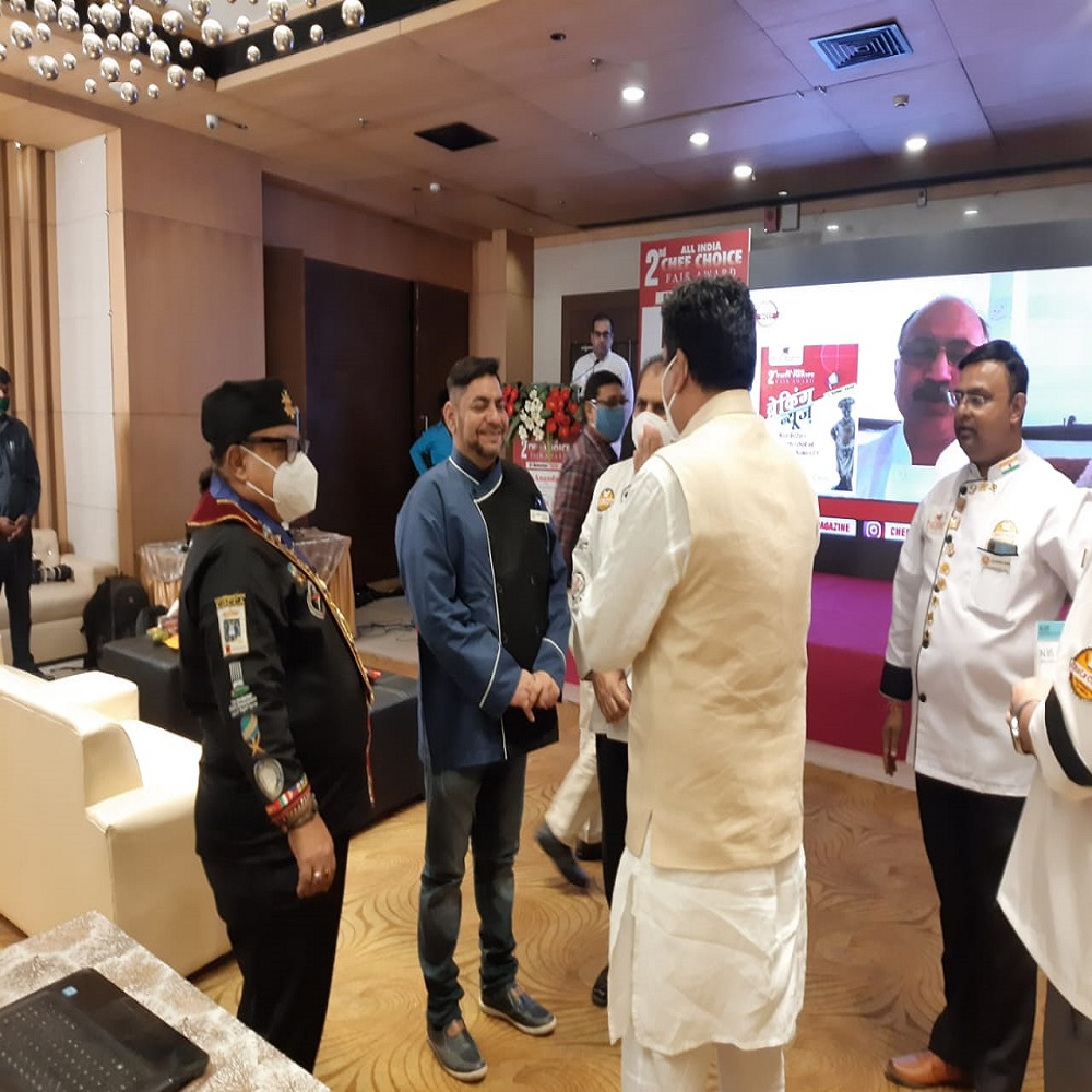 2nd All India Chefs Choice Award