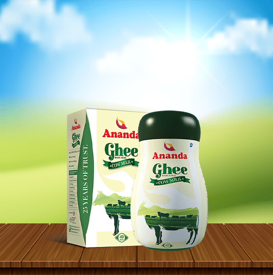 Ananda and Amul stood first in cow ghee quality