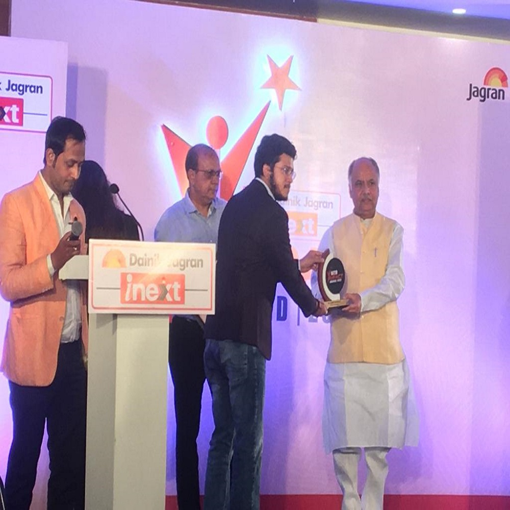 Dainik Jagaran Inext Impact Award Lucknow 29 Oct 2020