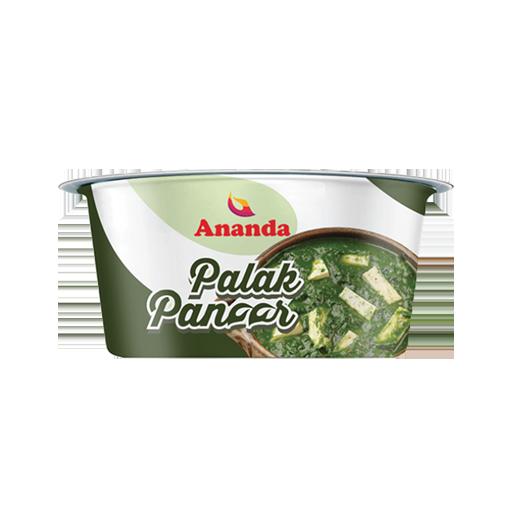 Palak Paneer Cup